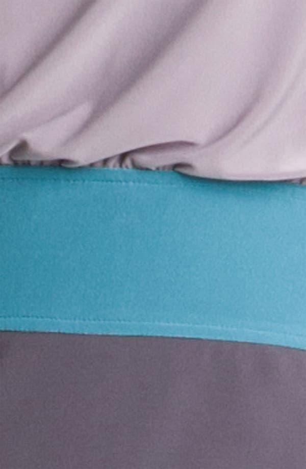 Alternate Image 3  - Adrianna Papell Colorblock Blouson Jersey Dress