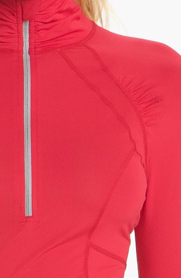 Alternate Image 3  - Zella 'Micro Jersey' Half Zip Pullover