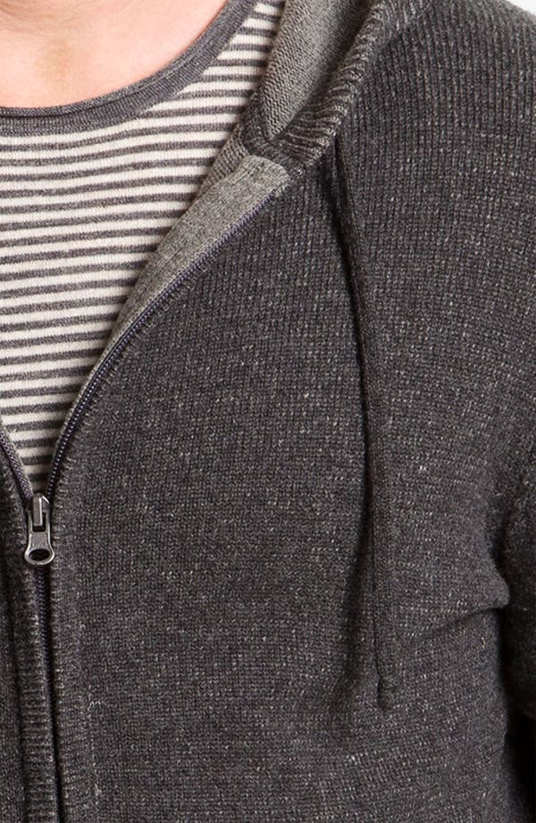 Alternate Image 3  - Vince Wool & Cashmere Knit Hooded Sweater