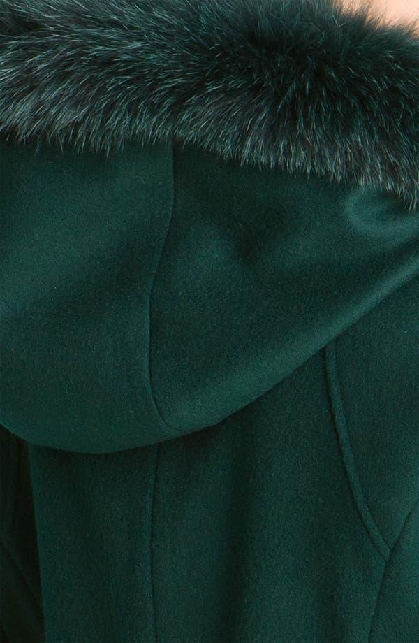 Alternate Image 3  - Sachi Genuine Fox Trim Hooded Coat