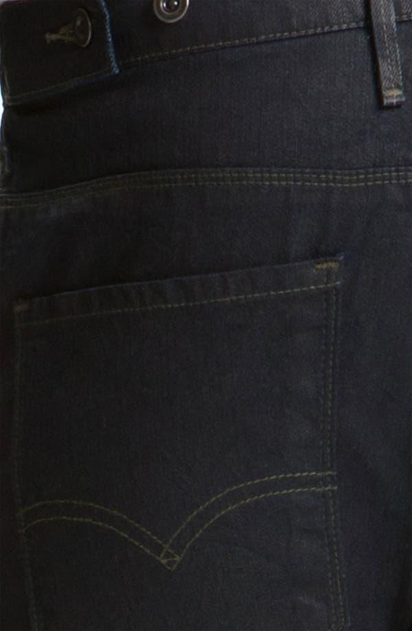 Alternate Image 4  - Levi's® '511™' Coated Slim Straight Leg Jeans (Dean)