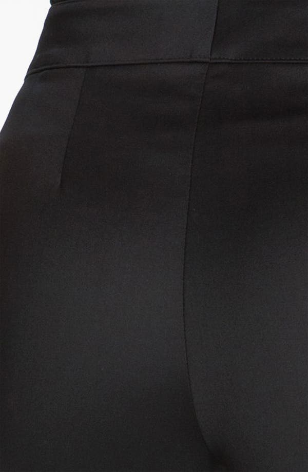 Alternate Image 4  - St. John Collection 'Emma' Venetian Wool Crop Pants
