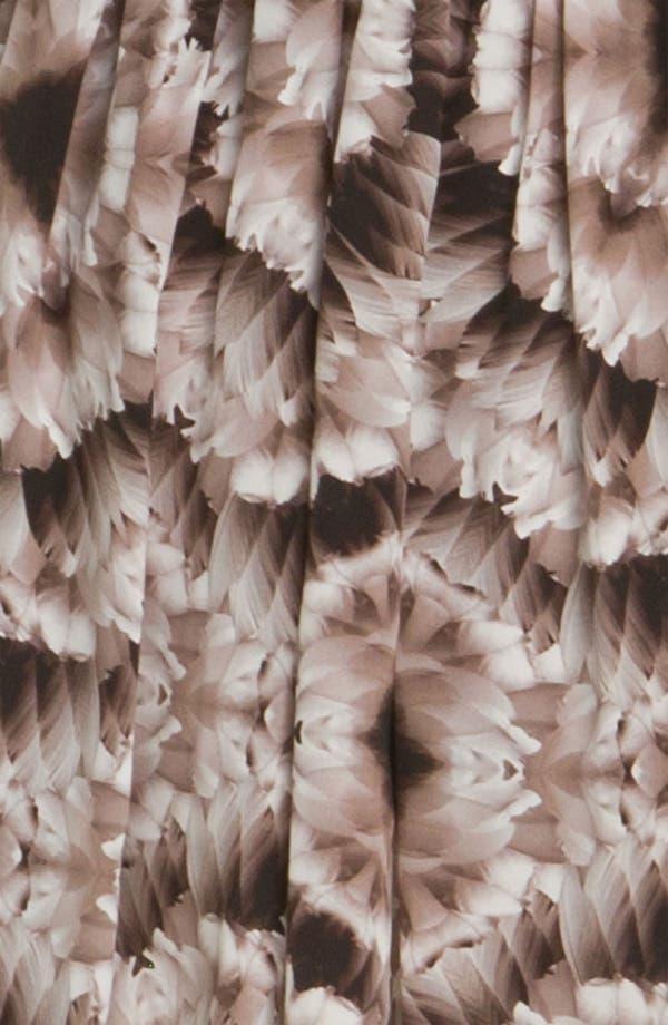 Alternate Image 3  - Cacharel Feather Print Silk Dress