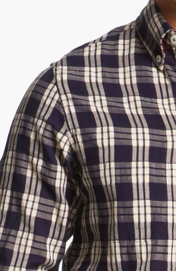 Alternate Image 3  - Ben Sherman 'Clerkenwell' Reversible Plaid Woven Shirt