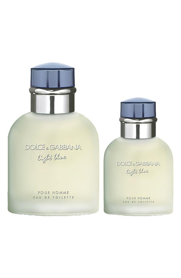 Alternate Image 2  - Dolce&Gabbana Beauty 'Light Blue Pour Homme' Eau de Toilette Duo