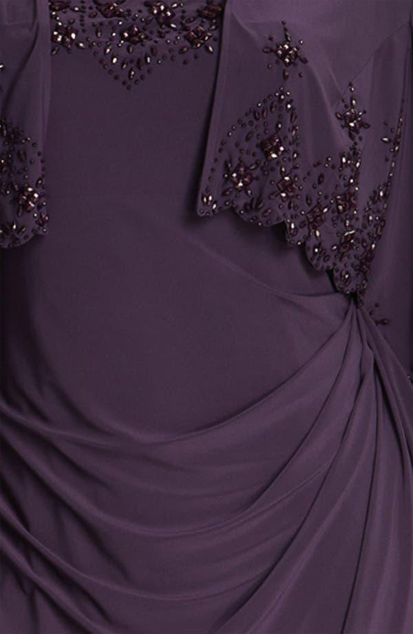 Alternate Image 3  - Alex Evenings Beaded Dress & Jacket (Plus)