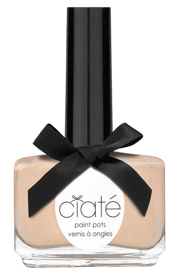 Alternate Image 1 Selected - Ciaté 'Complexion Collection - Ivory Queen' Paint Pot