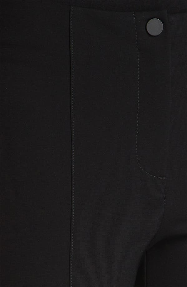Alternate Image 3  - Lafayette 148 New York Matte Jersey Slim Pants