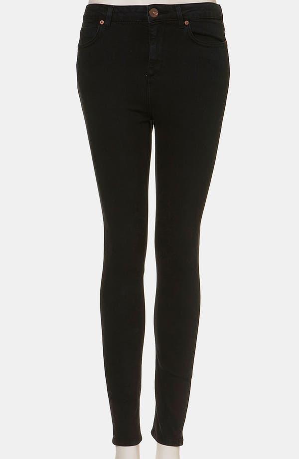 Alternate Image 1 Selected - Topshop Moto 'Jamie' High Waist Skinny Jeans