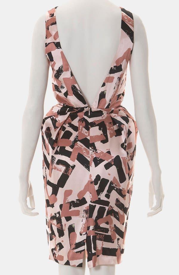 Alternate Image 2  - Topshop Pop Art Print Origami Dress