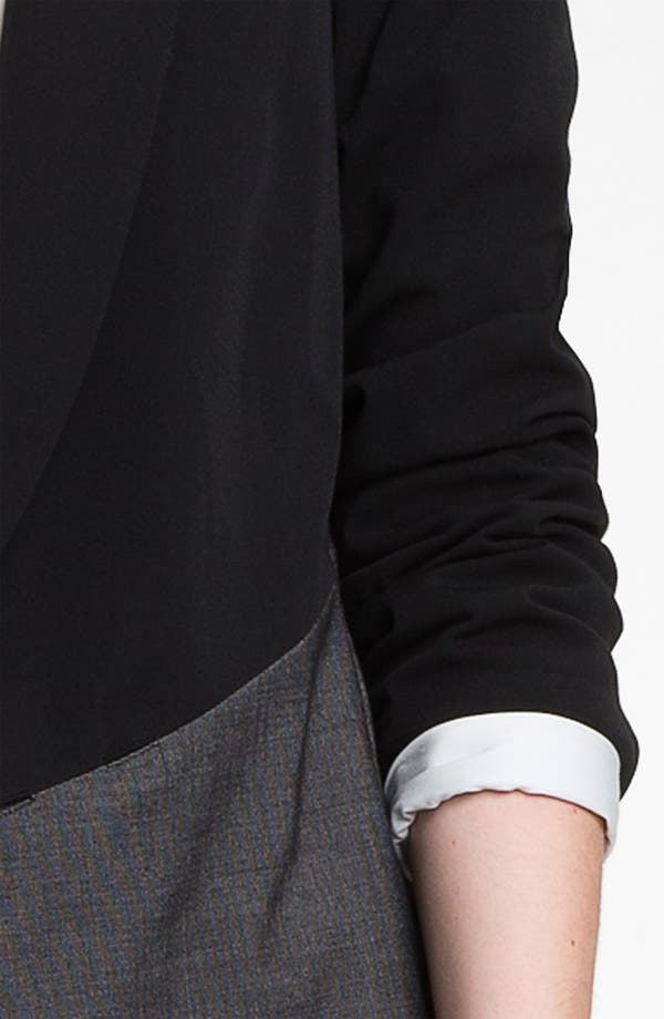 Alternate Image 3  - DKNYC Mixed Media Jacket