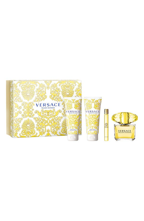Alternate Image 1 Selected - Versace 'Yellow Diamond' Fragrance Set