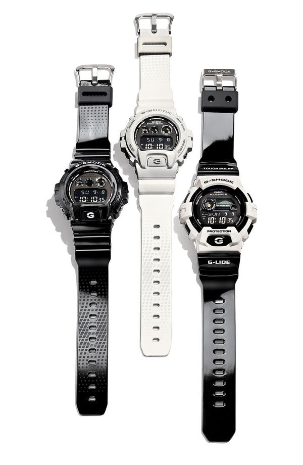 Alternate Image 3  - G-Shock 'Tidegraph' Digital Watch, 55mm x 51mm