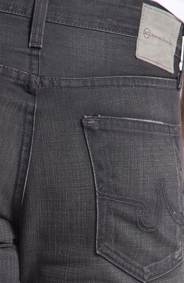 Alternate Image 4  - AG Jeans 'Matchbox' Slim Straight Leg Jeans (4 Year Grey)