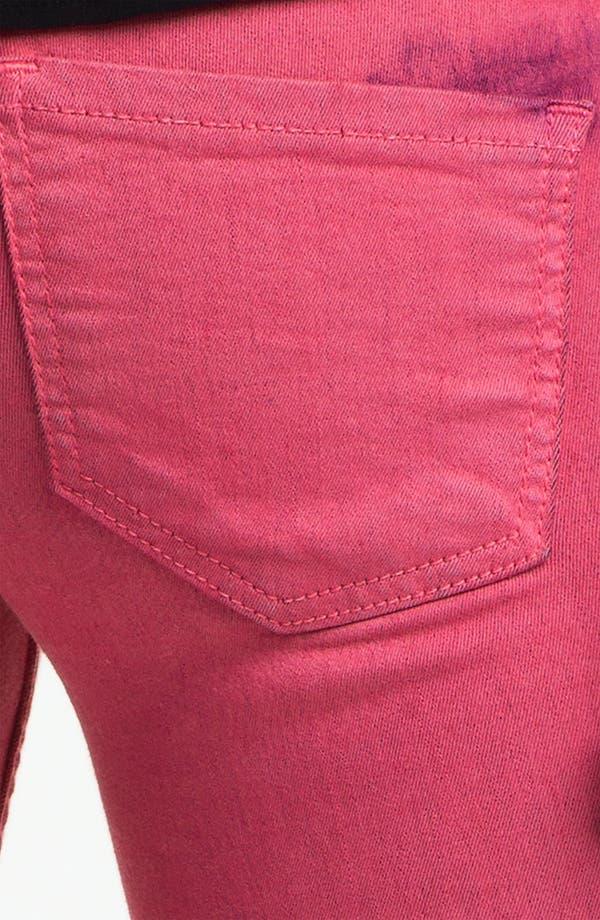 Alternate Image 3  - See Thru Soul Tie Dye Skinny Jeans (Juniors)