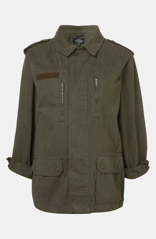 Alternate Image 1 Selected - Topshop Maternity Utility Jacket