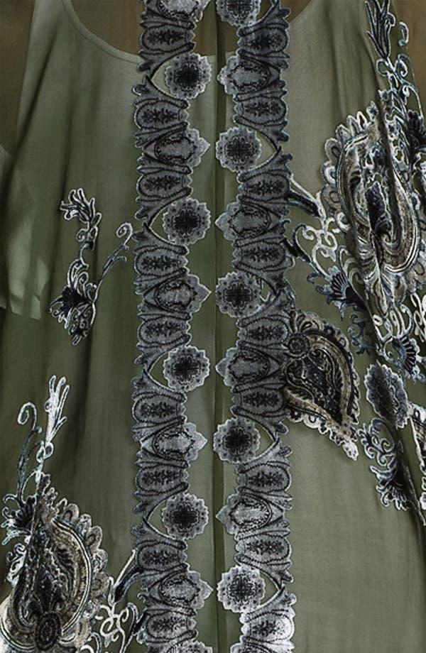 Alternate Image 3  - Citron Sheer Appliqué Jacket (Plus)