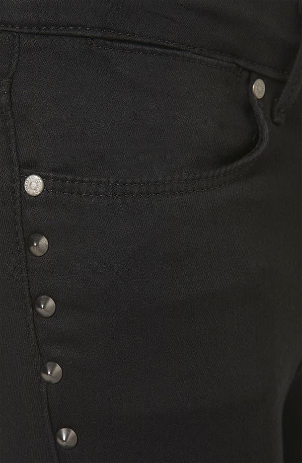 Alternate Image 3  - Topshop Moto 'Leigh' Studded Skinny Jeans