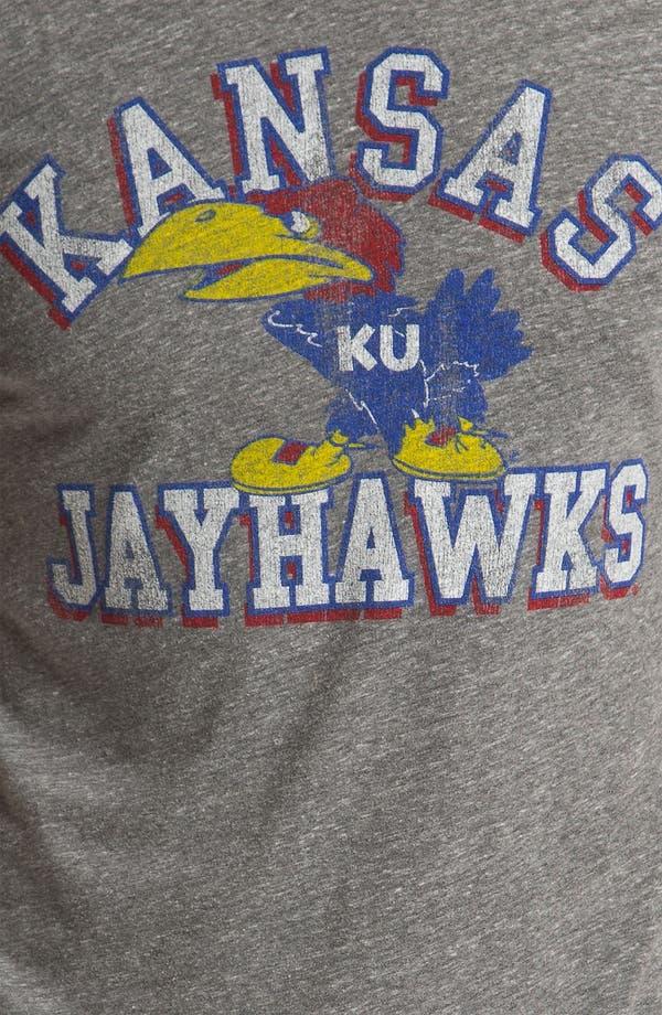 Alternate Image 3  - The Original Retro Brand 'Kansas Jayhawks' T-Shirt