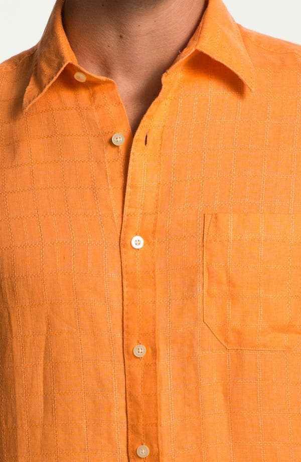 Alternate Image 3  - Tommy Bahama 'Costa Sera' Linen Sport Shirt