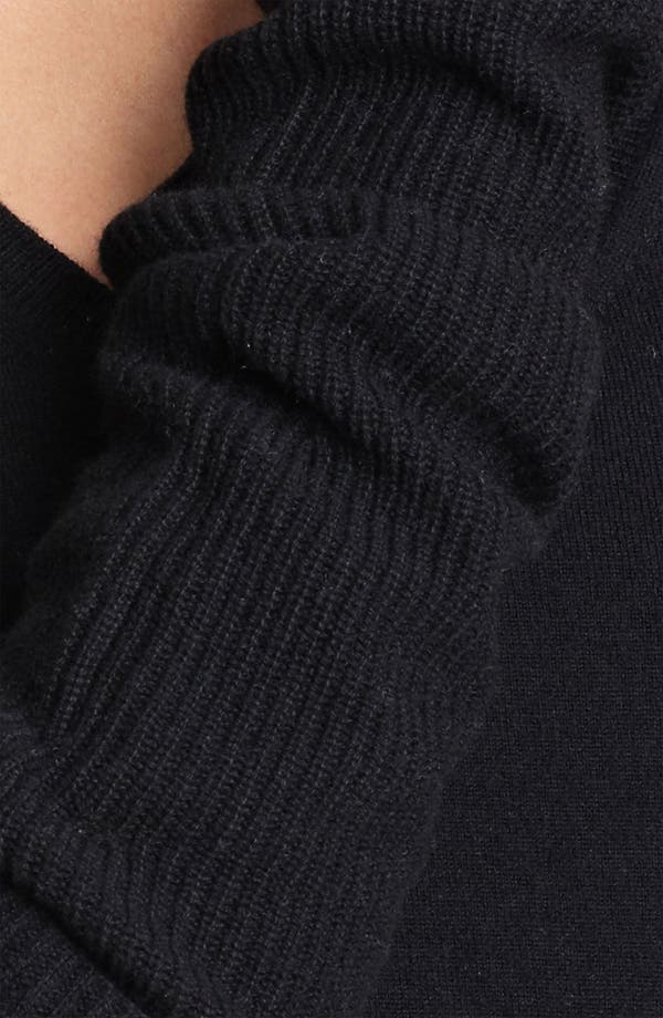 Alternate Image 3  - Donna Karan Collection 'Mid Layer' Ribbed Cashmere Arm Warmers