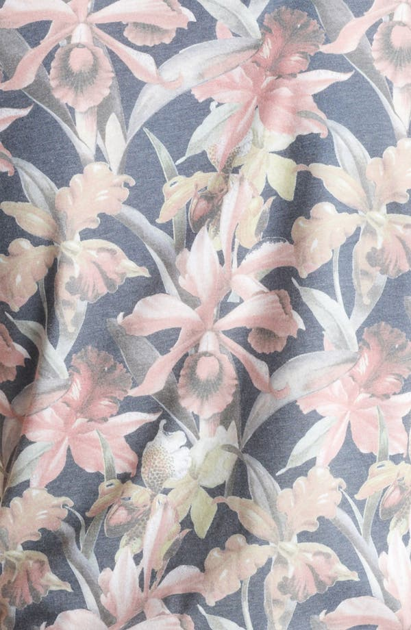 Alternate Image 3  - Topman 'Moody Floral' Print T-Shirt