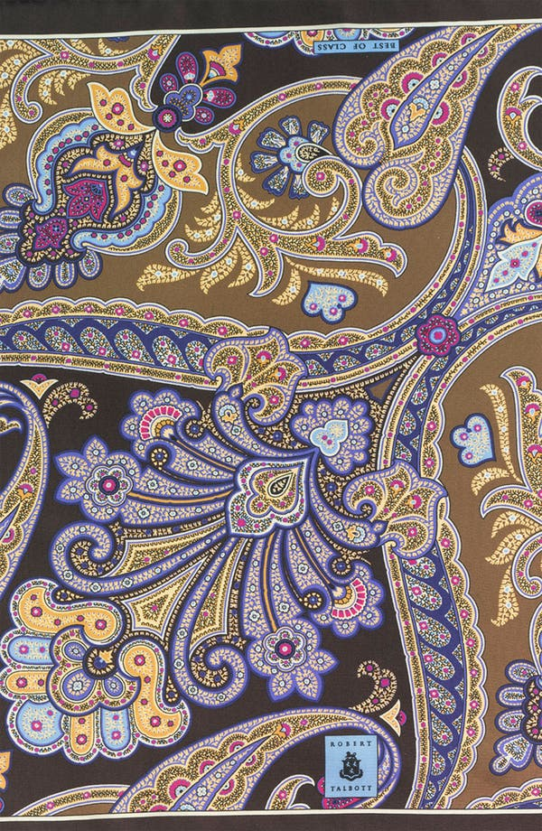 Alternate Image 3  - Robert Talbott Paisley Pocket Square