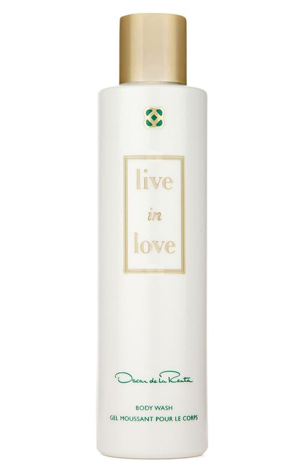 Alternate Image 1 Selected - Oscar de la Renta 'Live in Love' Body Wash