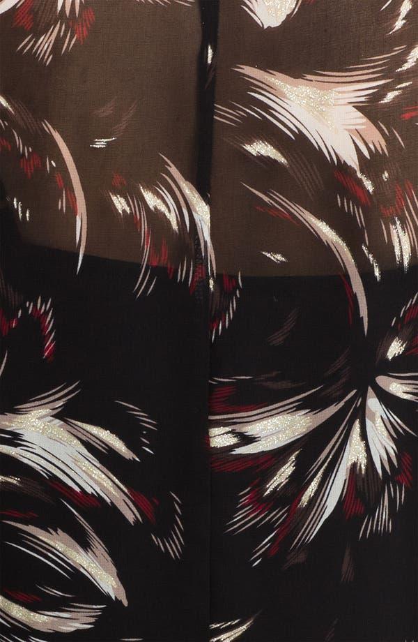 Alternate Image 3  - Sanctuary Print Chiffon Shirt