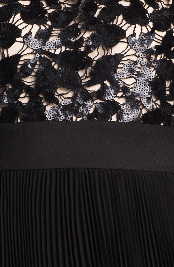 Alternate Image 3  - Eliza J Sequin Bodice Pleated Fit & Flare Dress