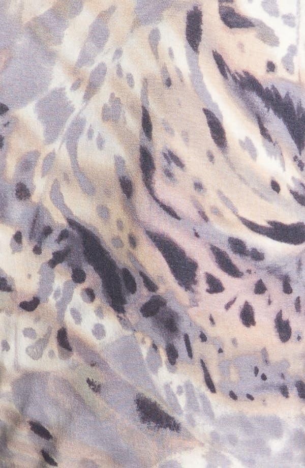 Alternate Image 3  - St. John Yellow Label Animal Print Tee
