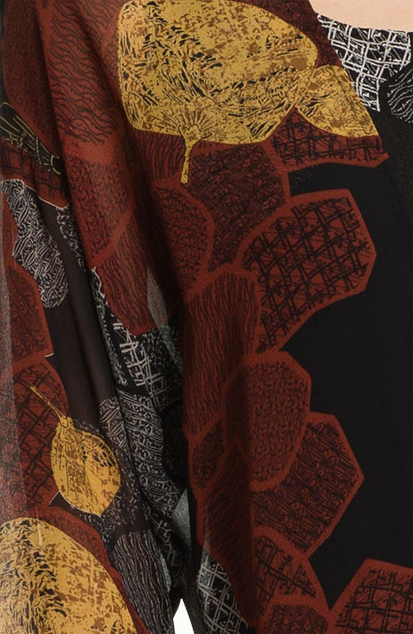 Alternate Image 3  - Citron Open Front Silk Jacket (Petite)