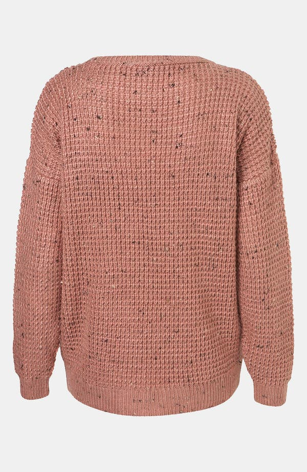 Alternate Image 2  - Topshop Speckled Sweater