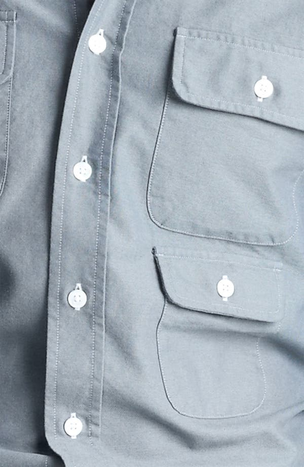 Alternate Image 3  - Gant by Michael Bastian Multi Pocket Woven Shirt