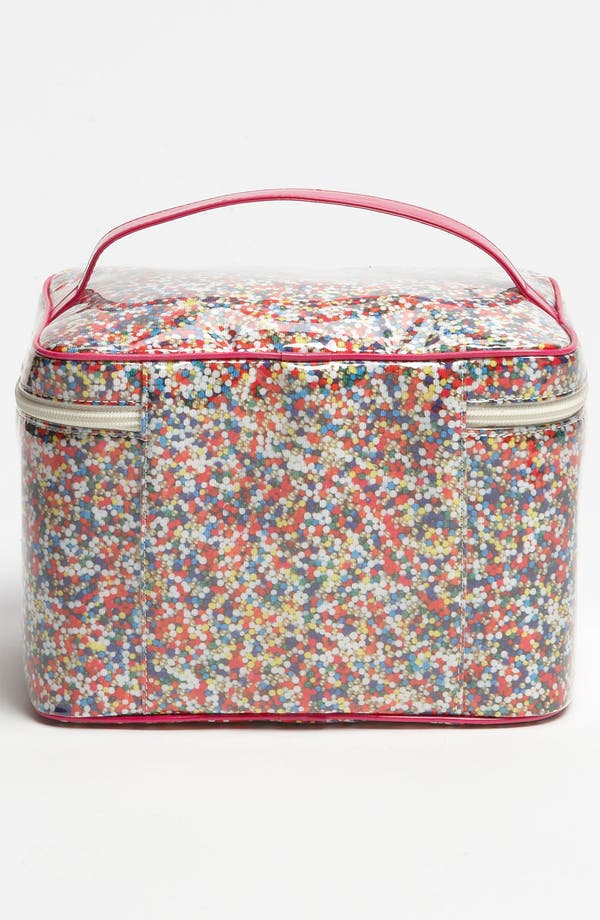 Alternate Image 4  - kate spade new york 'sprinkles - large natalie' cosmetics case set