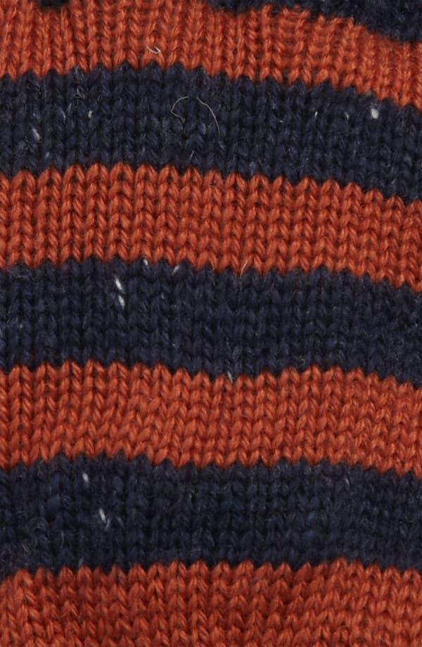 Alternate Image 2  - Topman Stripe Gloves