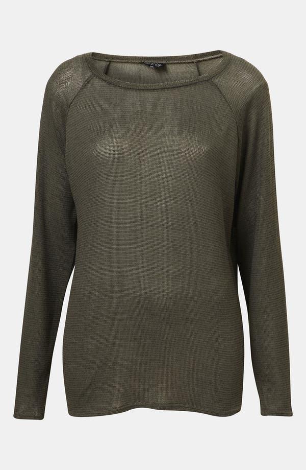 Main Image - Topshop Sheer Sweater