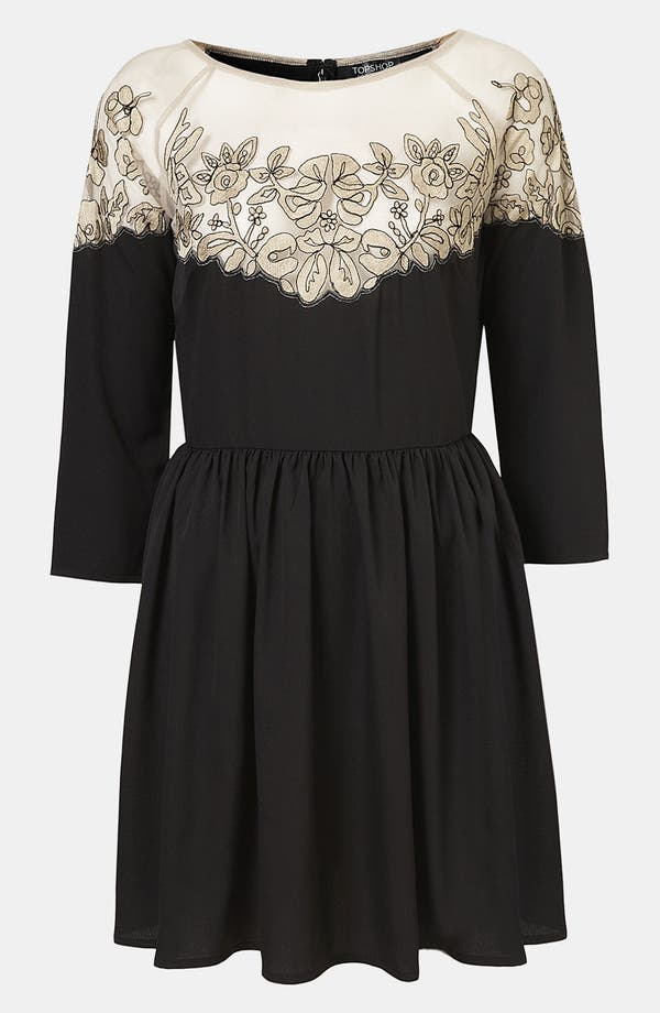 Alternate Image 1 Selected - Topshop Vintage Lace Dress