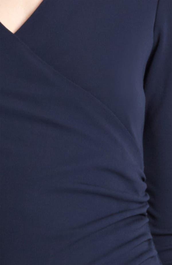Alternate Image 3  - Burberry London Crepe Jersey Dress
