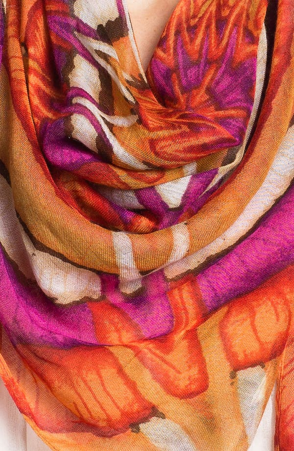 Alternate Image 2  - Echo 'Raffia Basket' Scarf