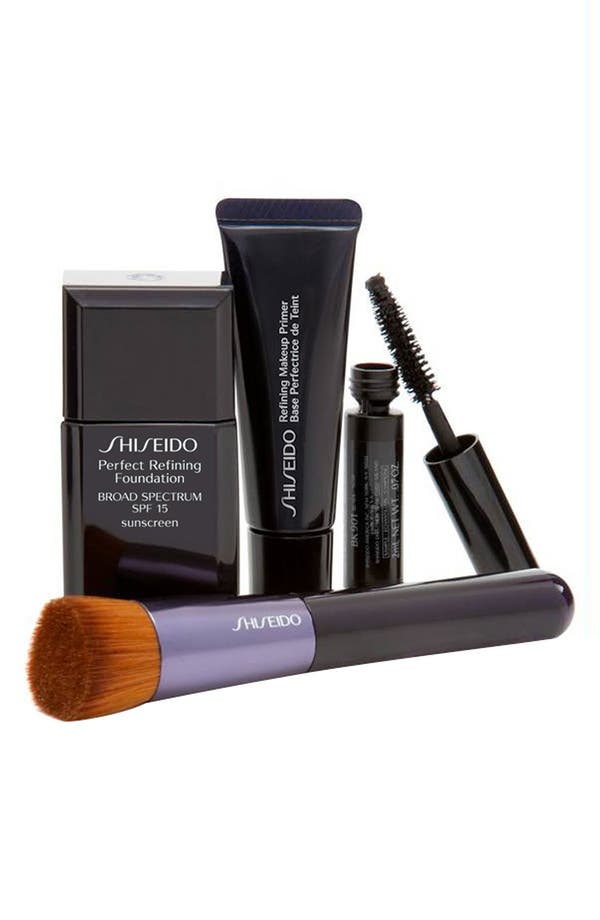 Alternate Image 1 Selected - Shiseido 'Runway Perfect' Foundation Kit
