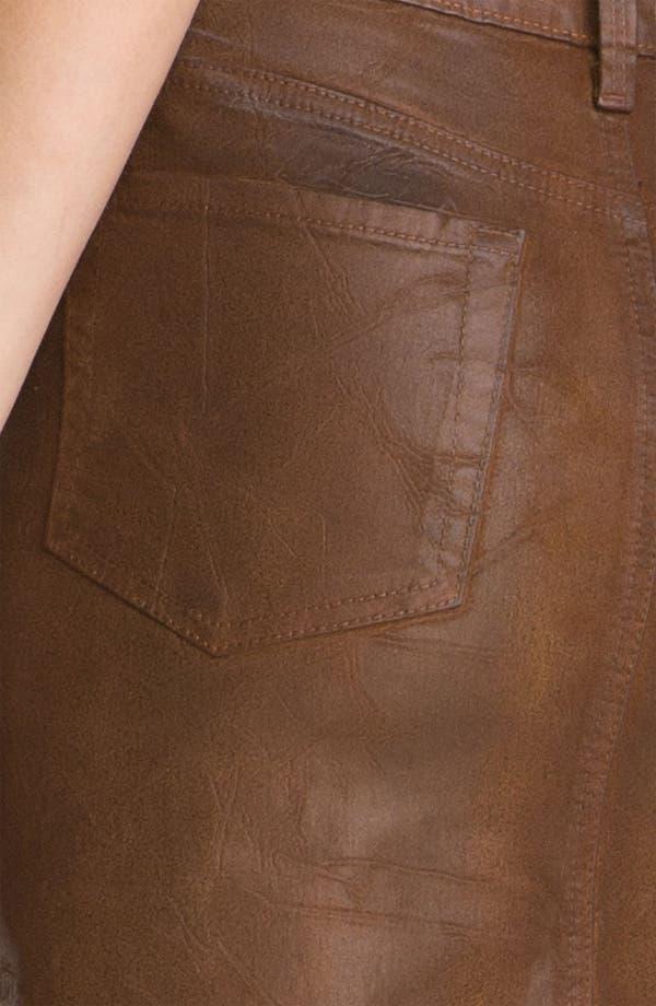 Alternate Image 3  - NYDJ 'Emma' Coated Twill Skirt (Petite)