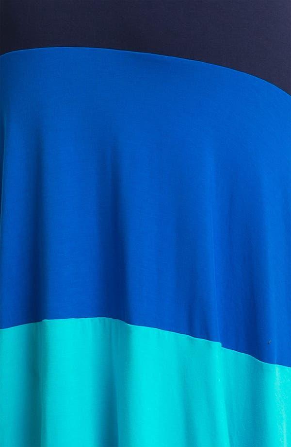 Alternate Image 3  - Calvin Klein Colorblock High/Low Jersey Maxi Dress