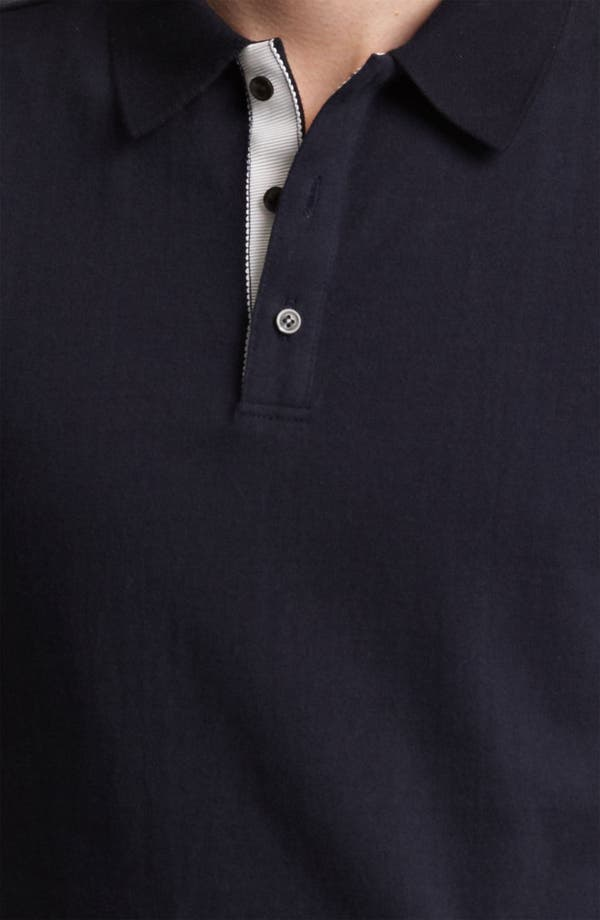 Alternate Image 3  - Thom Browne Cotton Jersey Polo
