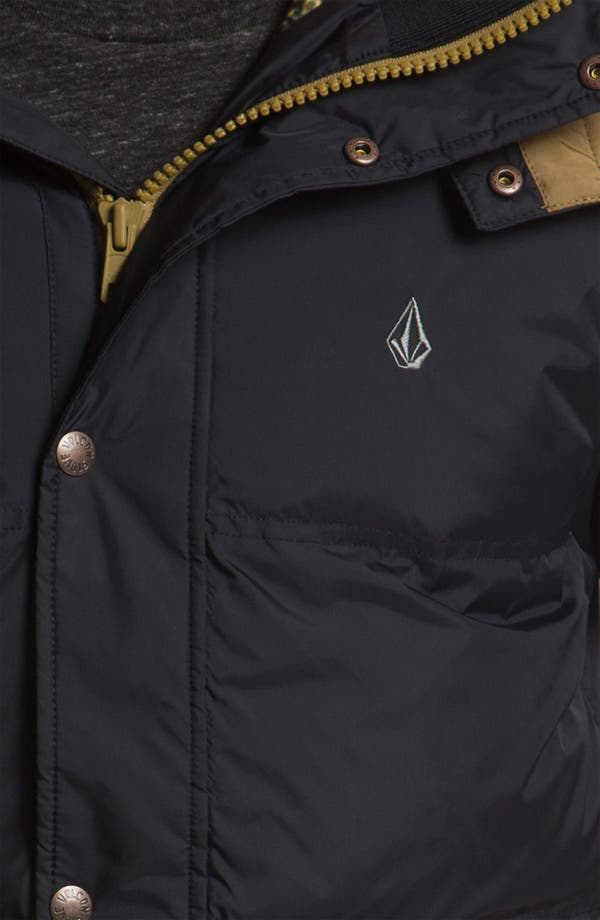 Alternate Image 3  - Volcom 'Dabbling' Quilted Parka