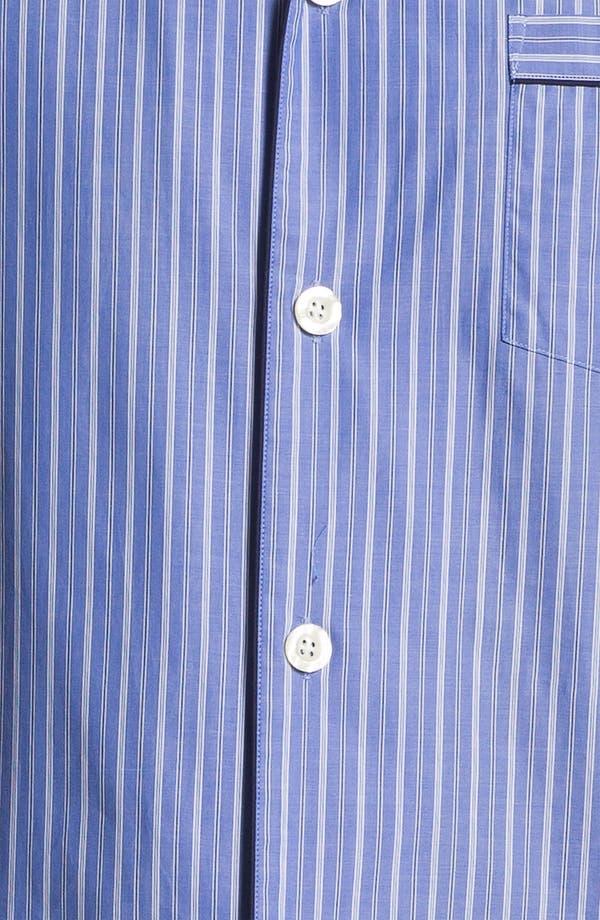 Alternate Image 3  - Brooks Brothers 'Ground Stripe' Pajamas