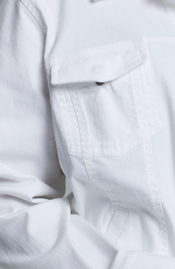 Alternate Image 3  - Eileen Fisher Organic Cotton Jean Jacket (Plus)