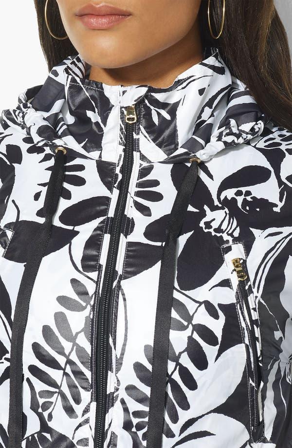 Alternate Image 3  - Lauren Ralph Lauren Zip Front Hooded Jacket (Plus)