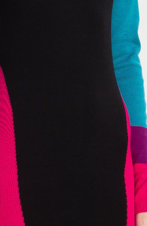 Alternate Image 3  - BCBGMAXAZRIA 'Korin' Silk Blend Sweater Dress