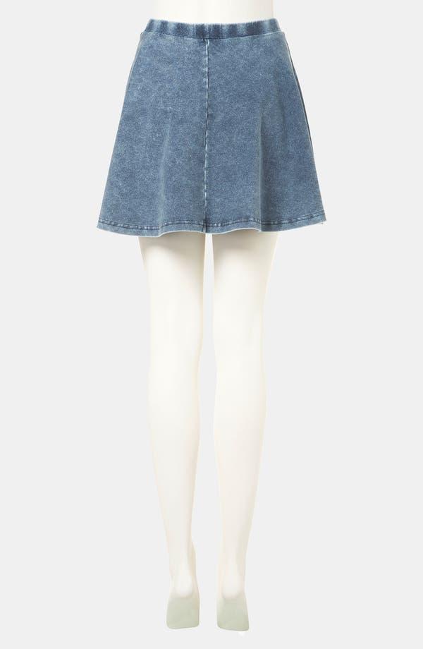 Alternate Image 2  - Topshop 'Andie' Skater Skirt (Petite)